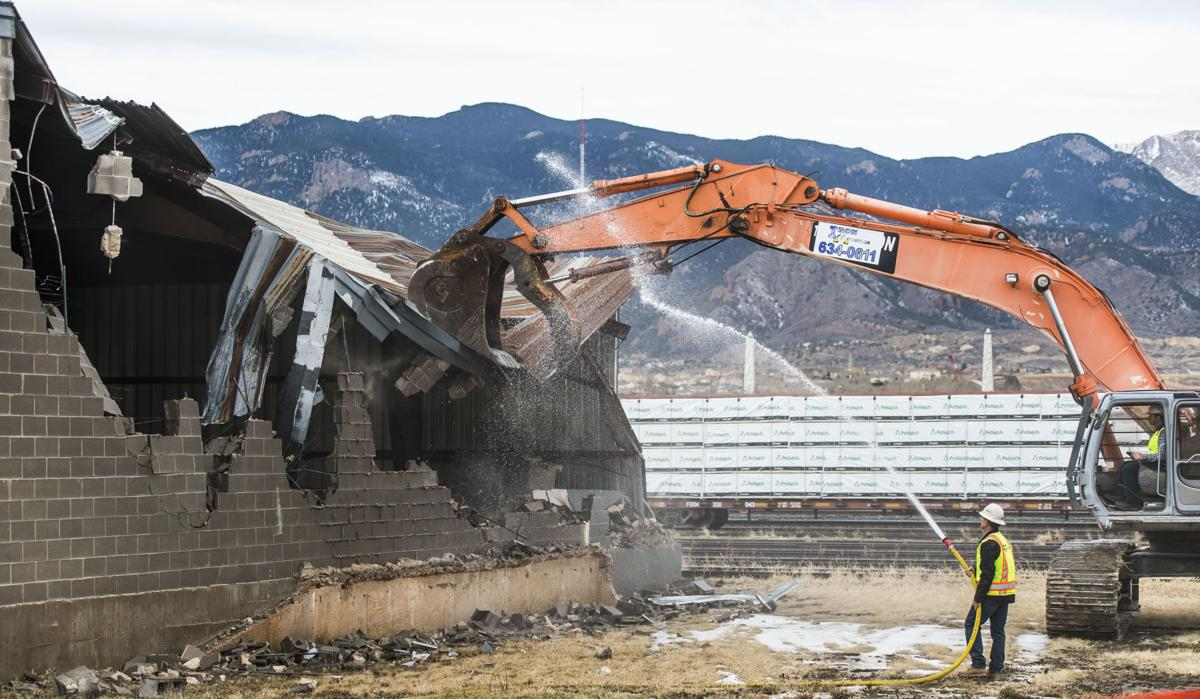 Site preparation underway for U S  Olympic Museum in