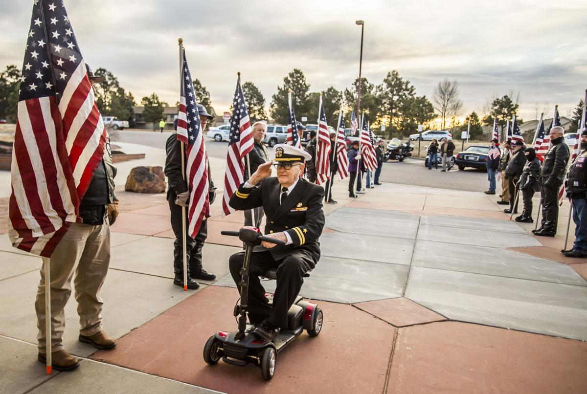 Oldest living Pearl Harbor survivor recounts 'Day of Infamy' to Colorado Springs students