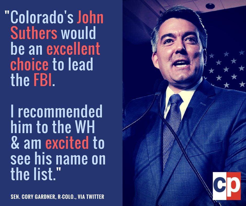 Colorado Springs Mayor John Suthers on short list to lead FBI