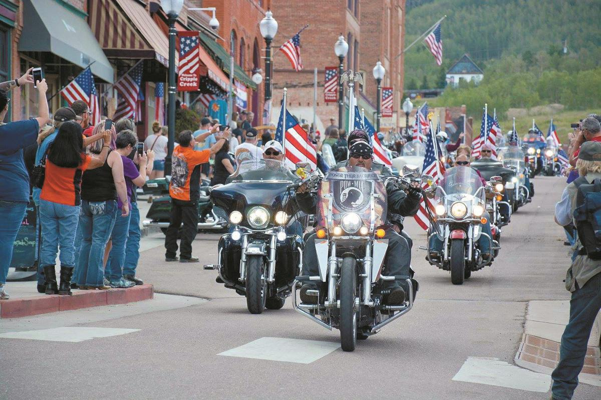 'Colorado's largest procession of motorcycles' roaring to Teller County this weekend to honor veterans