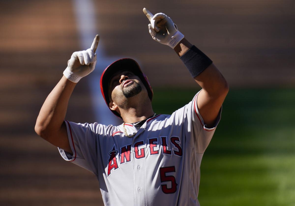 Angels Rockies Baseball