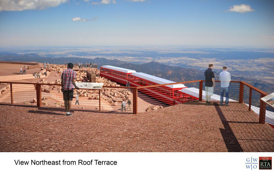 Plans stall for new Pikes Peak Summit House