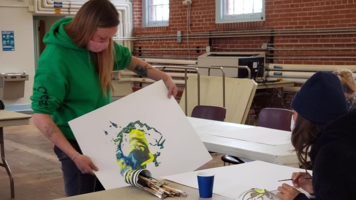 Art therapy for the homeless