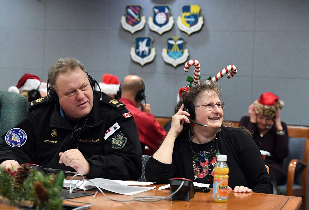 NORAD volunteers track Santa across the globe