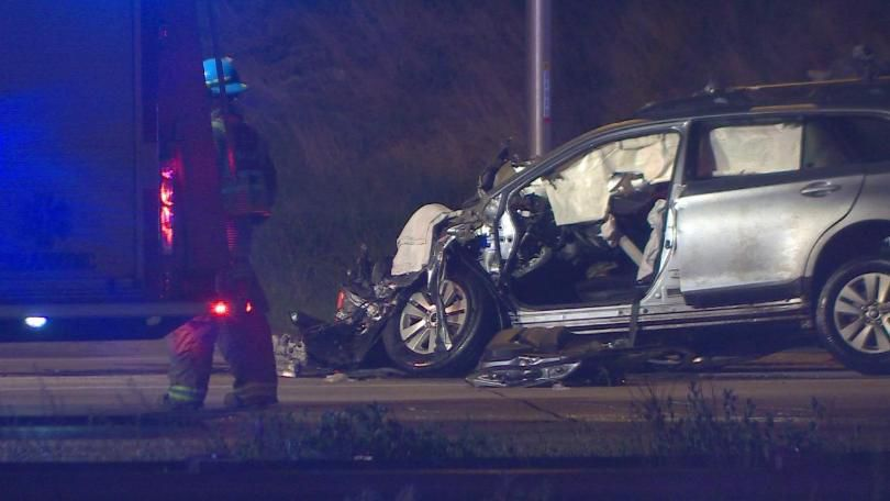 2 injured in I-25 crash, alleged drunk driver arrested