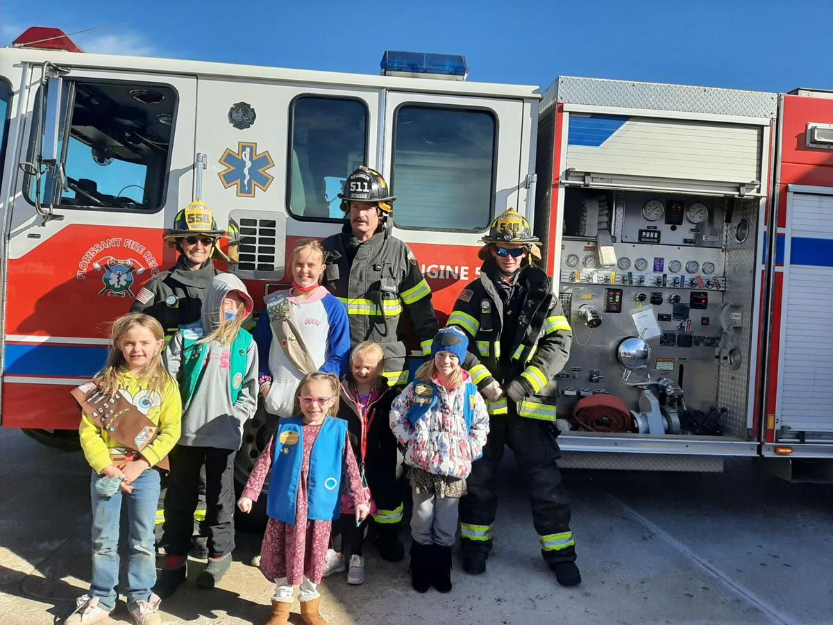 Girl Scout cookies delivered to law enforcement, first responders across Teller County