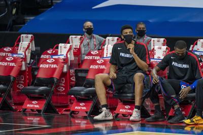 Nuggets 76ers Basketball