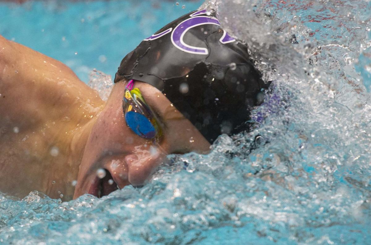 Discovery Canyon Thunder rumbles at boys' swim and dive championships