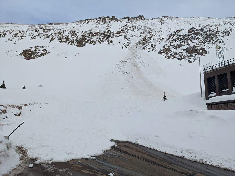 This image shows the slide. Photo Credit: Colorado Avalanche Information Center.