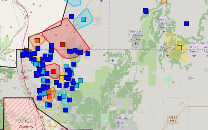 More than 8 500 Mountain View Electric customers without power