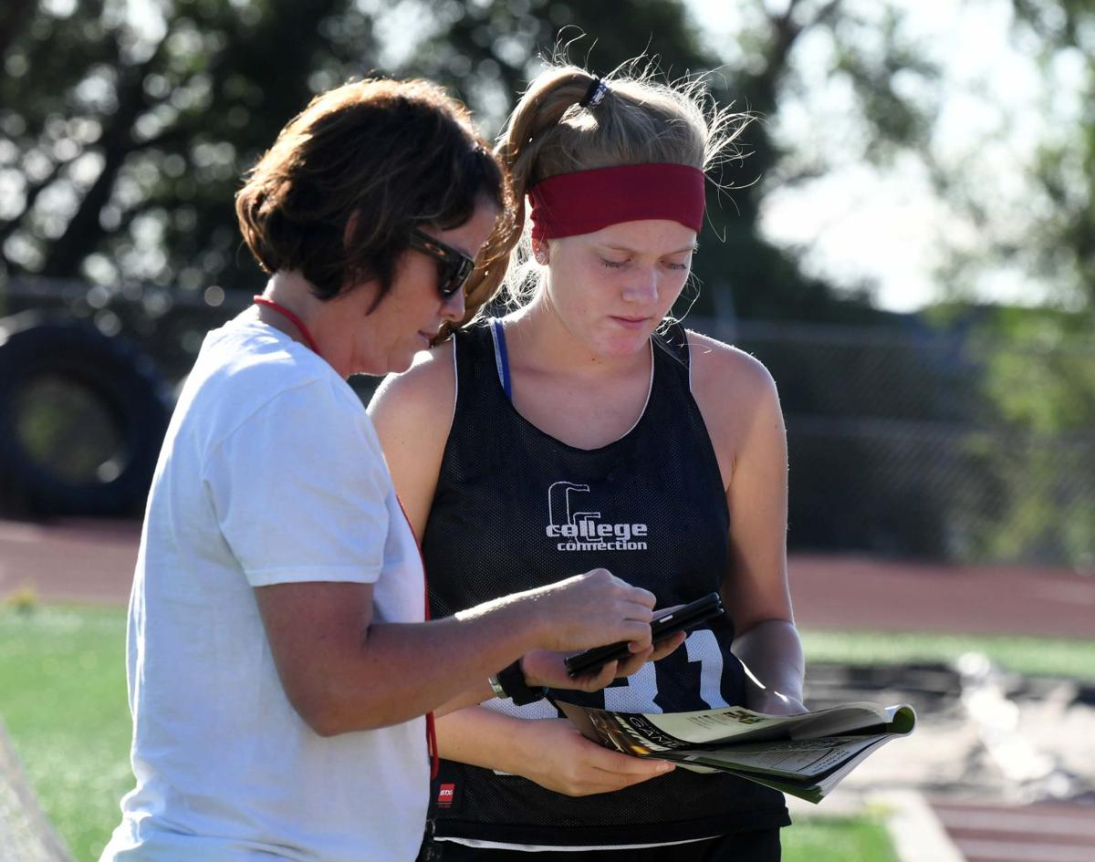 D-12 athletes prep for upcoming fall season in first practices