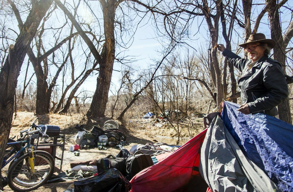 El Paso County sheriff calls off homeless camp evictions, says they are 'tenants'