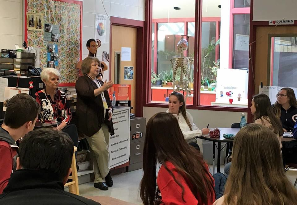 Lewis-Palmer students learn about the effects, impacts of diabetes in interactive health panel