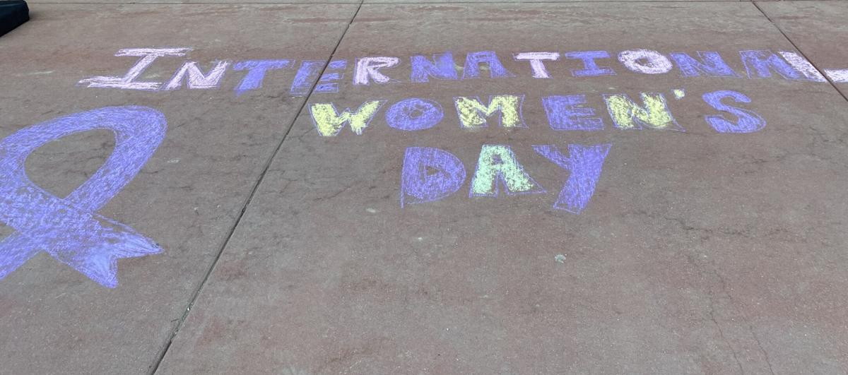 Celebrating International Women's Day in Victor