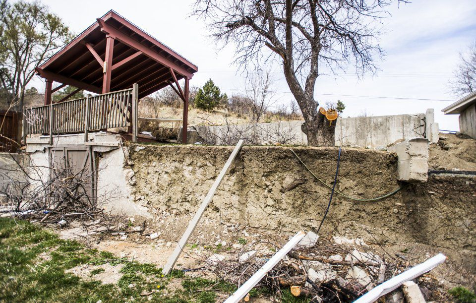 Landslides - The home of William Farkas has been condemned 2