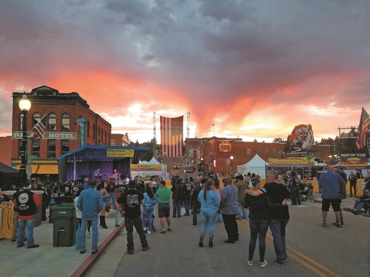 Colorado's largest procession of motorcycles' roaring to Teller