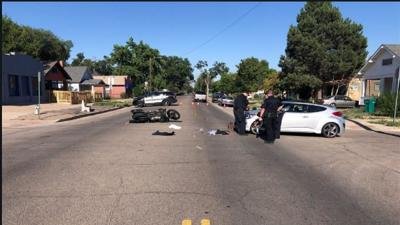 Man dies in Pueblo motorcycle crash
