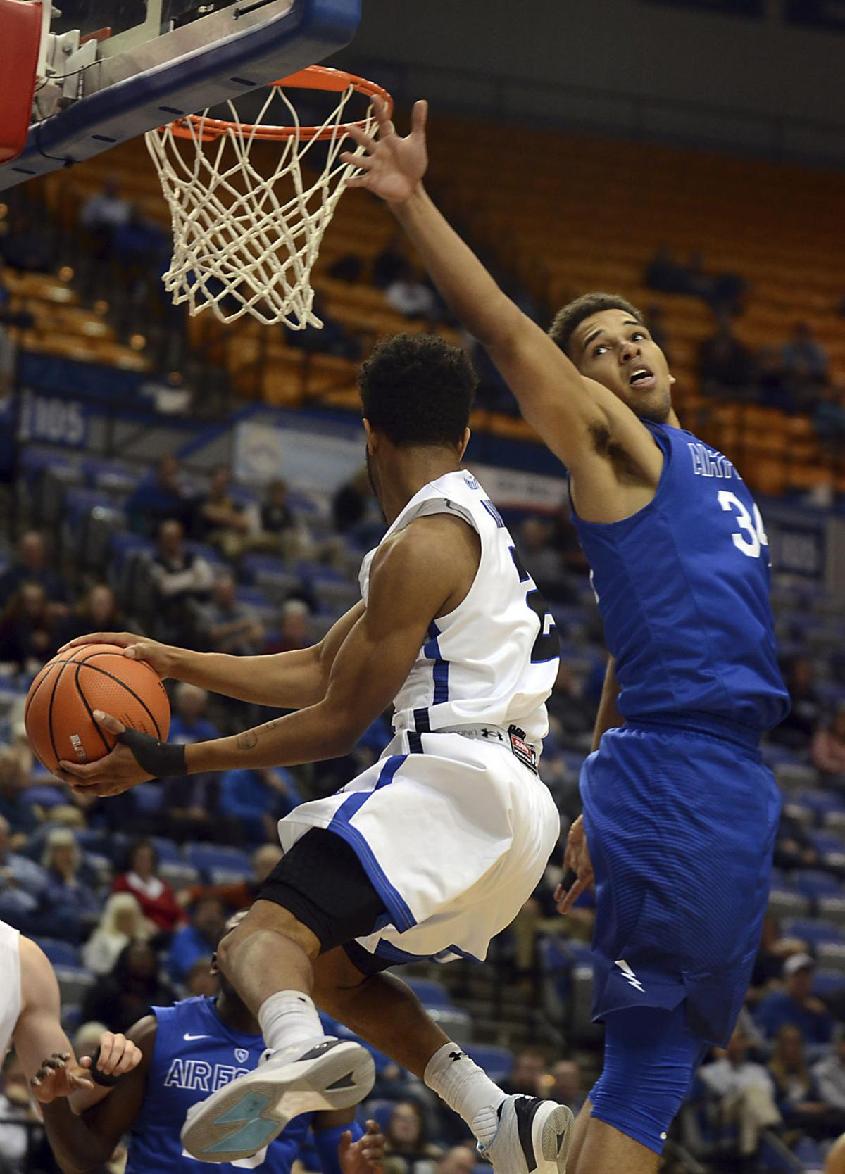 Air Force Indiana St Basketball