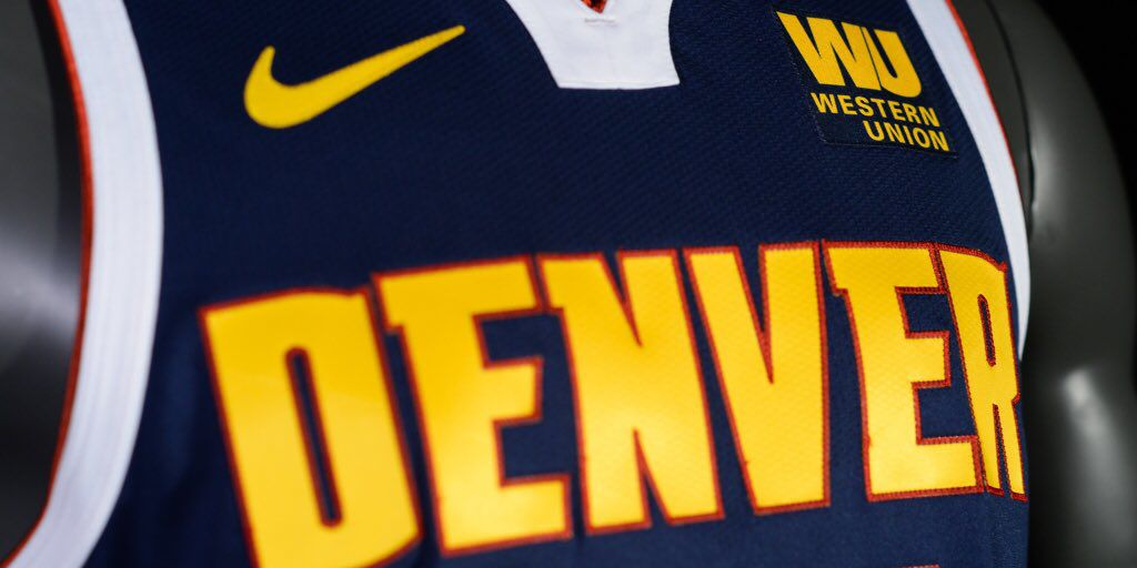 uk availability cf266 a4331 Denver Nuggets unveil new uniforms, ditching the powder blue ...