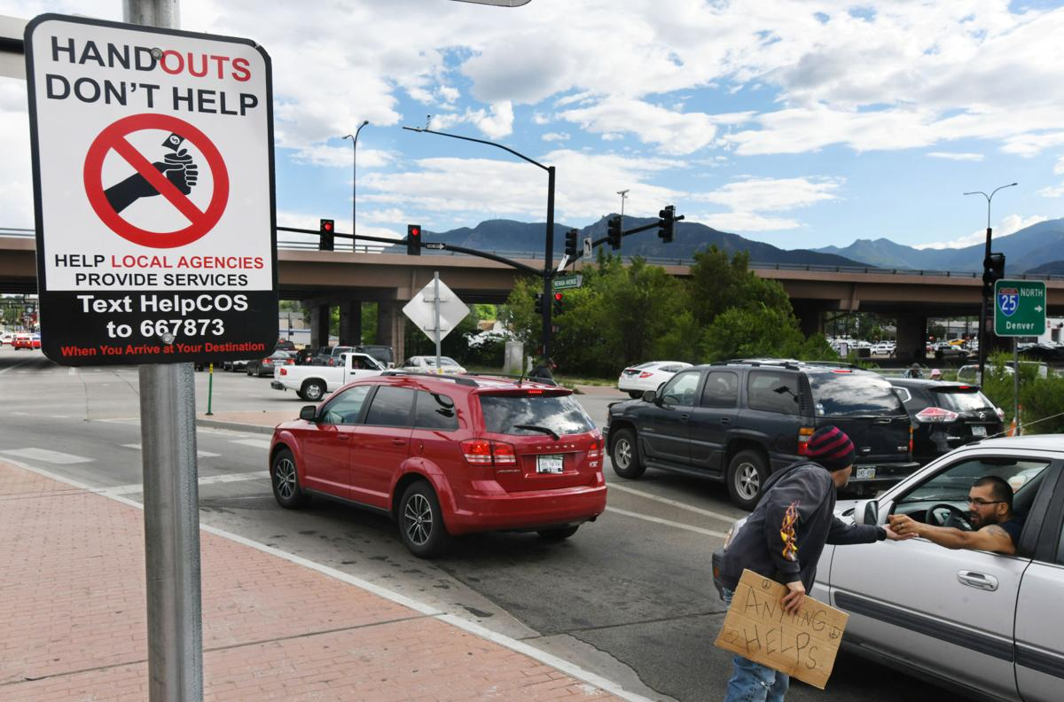 Colorado Springs campaign aims to curb panhandling by redirecting donations