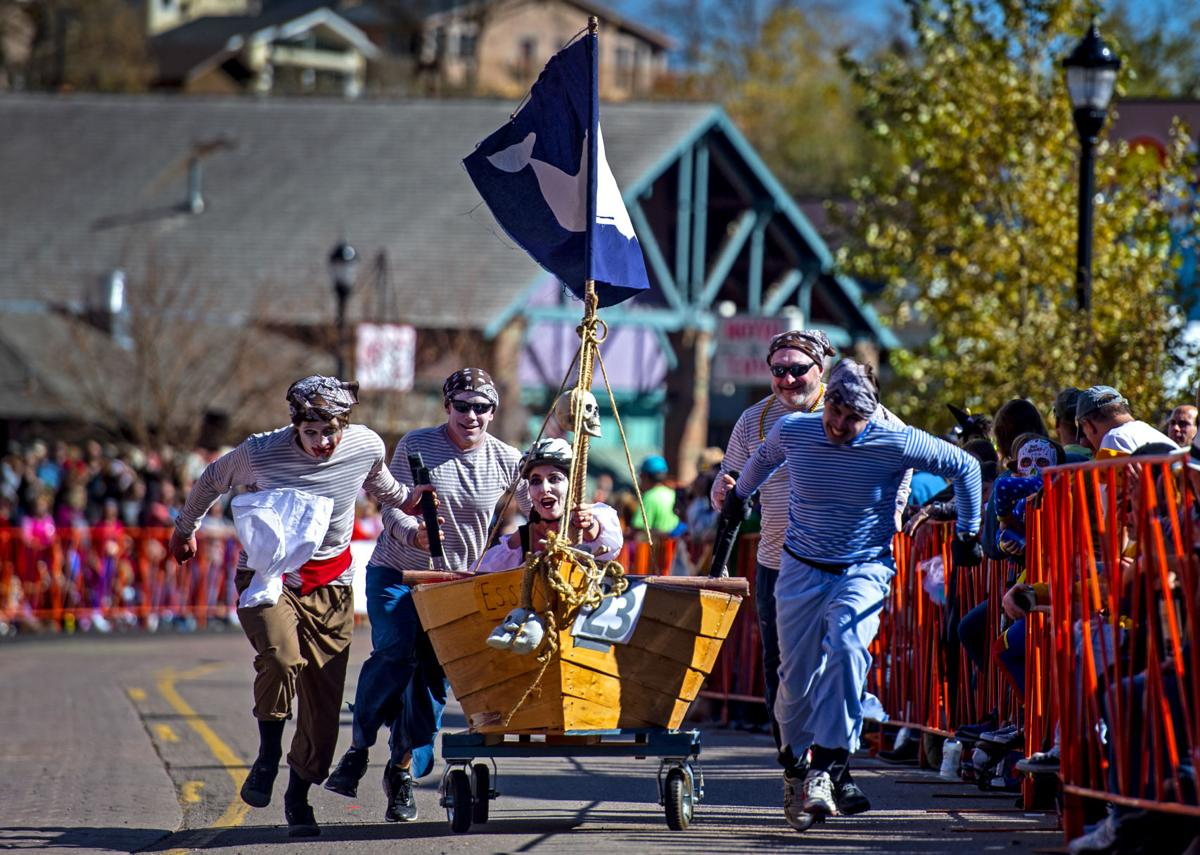 Snapshots: 25th annual Emma Crawford Coffin Races