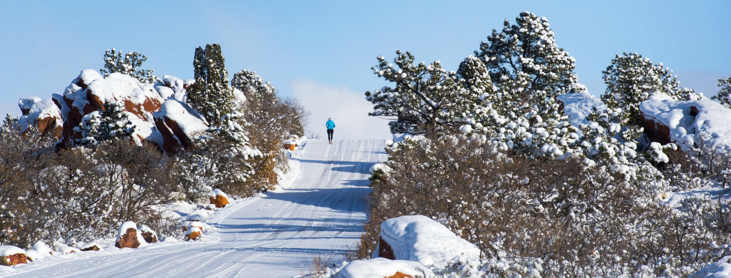 Heavy weekend snow briefly delayed Garden of the Gods