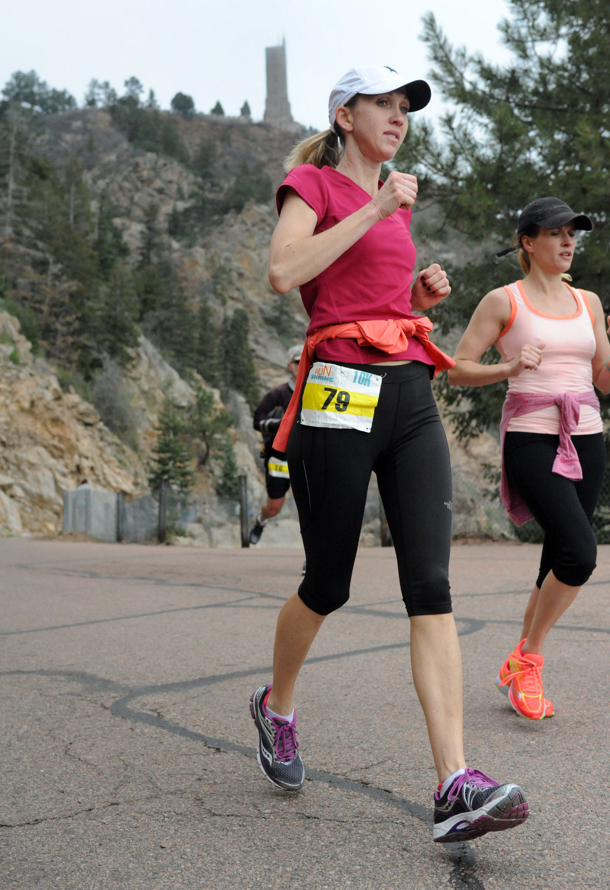 Run to the Shrine 5k/10k at Cheyenne Mountain Zoo Saturday May 17, 2014. Photo by Jeff Kearney