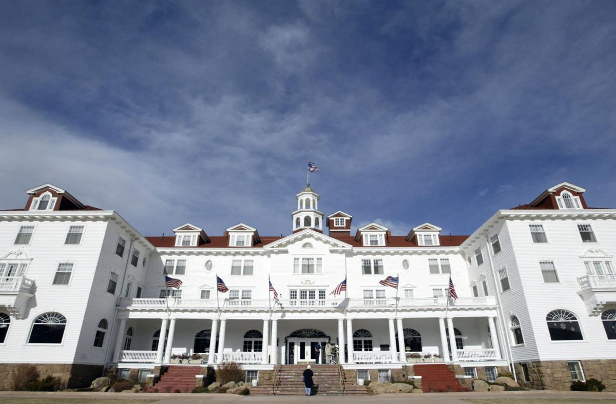 watch bear wanders through lobby of the stanley hotel in estes park