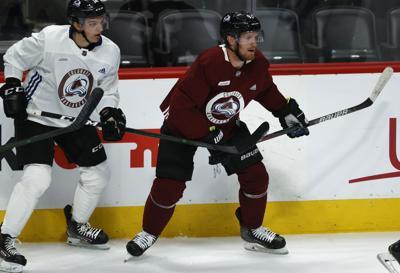 Avalanche Hockey Landeskog Bowers