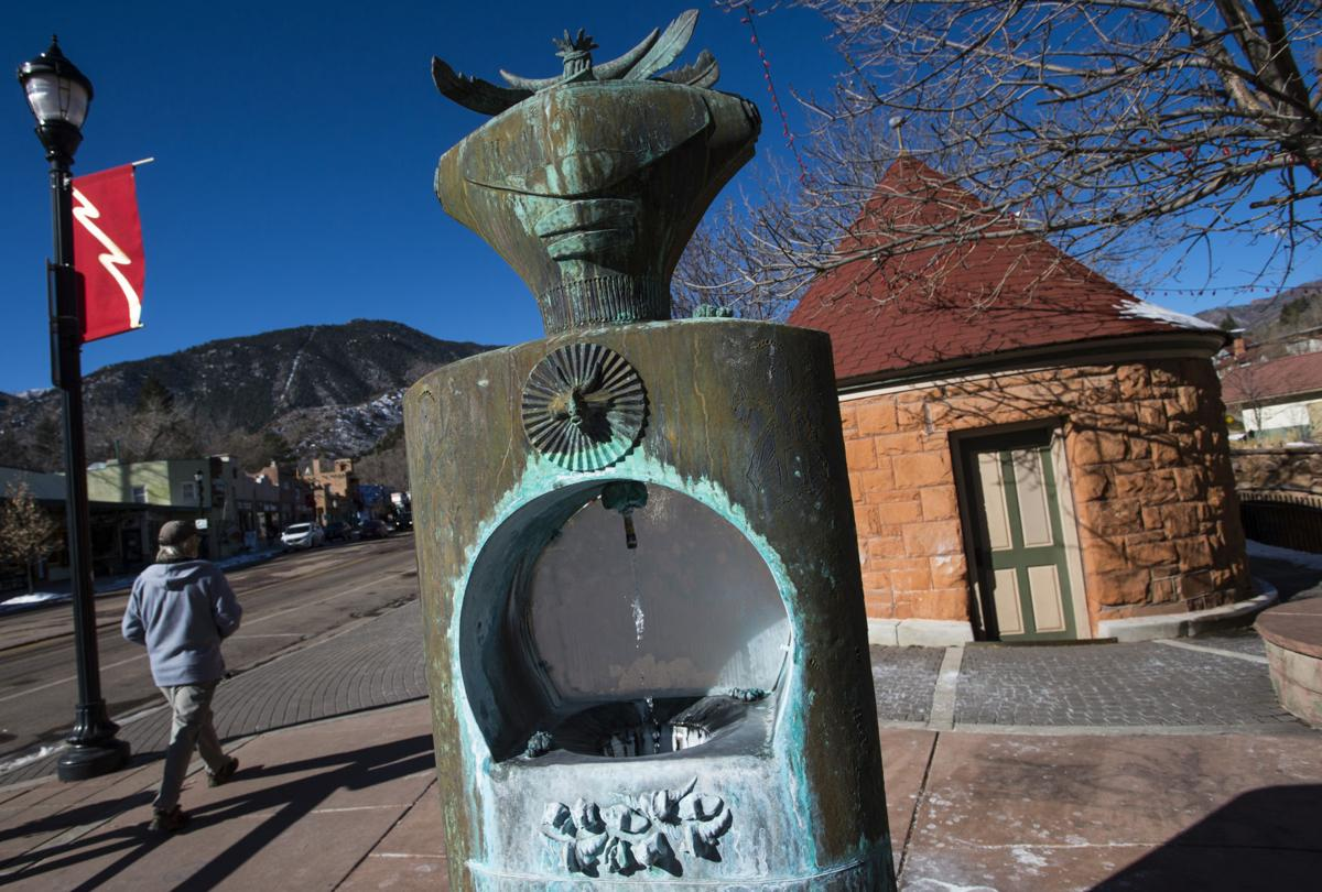 Drink to your health at springs of Manitou Springs