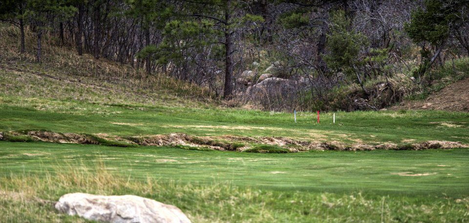 Landslides - Elevated ground at the Broadmoor South Golf Course