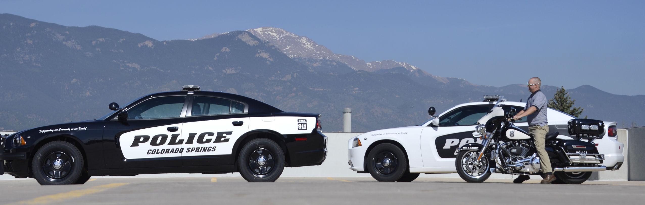 POLICE CARS COLOR SCHEME