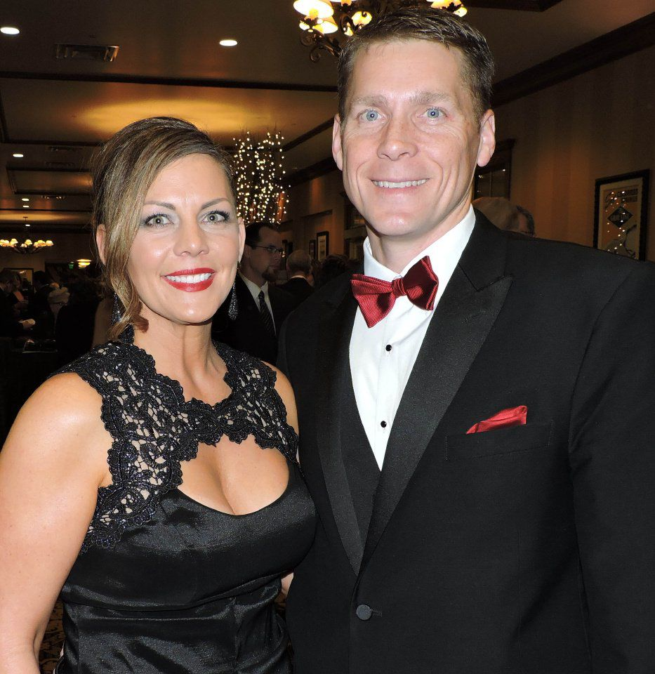 """Heart Ball """"A Midwinter Night's Dream:"""" Troy and Heather Twesme 021917 Photo by Linda Navarro"""