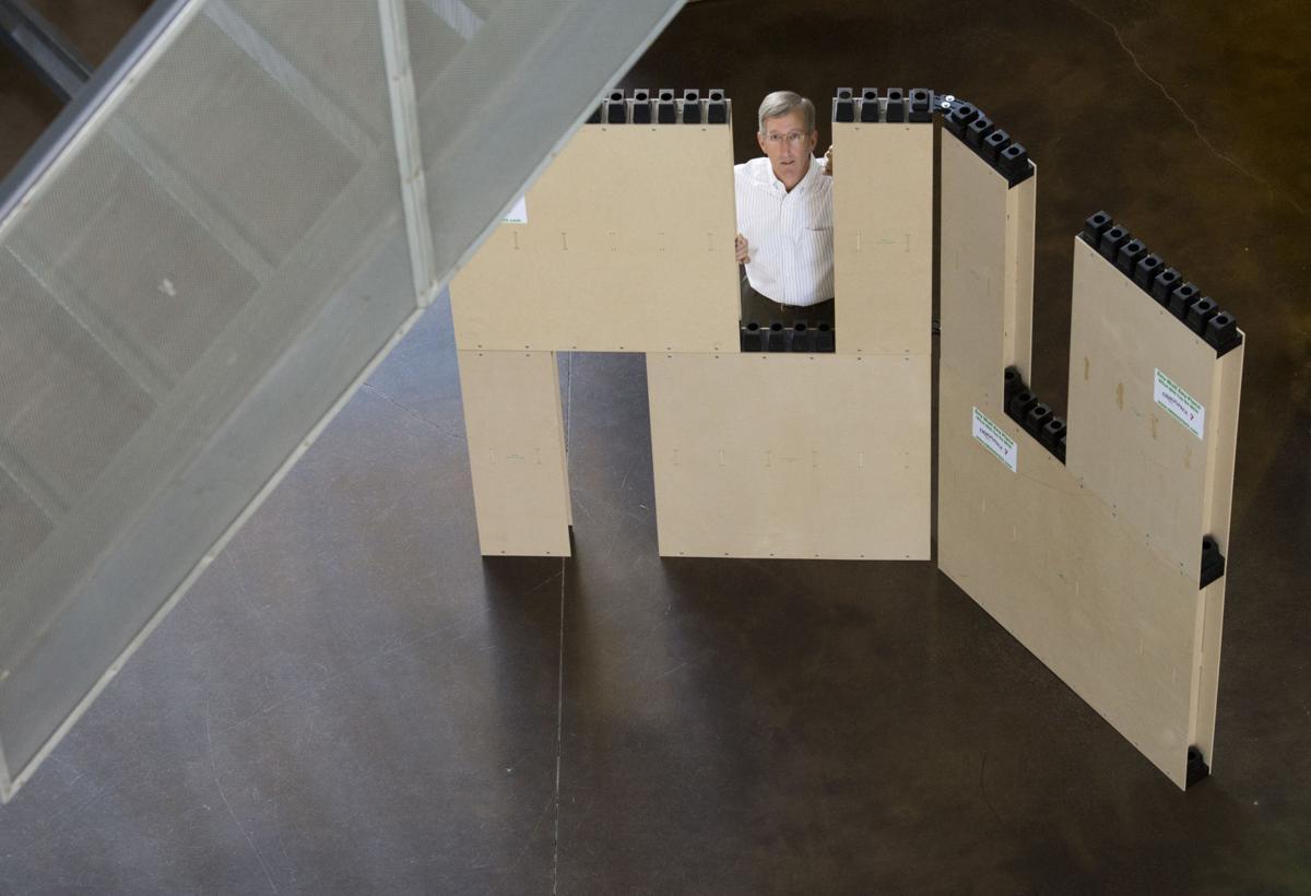 Larkspur company develops a better fake wall