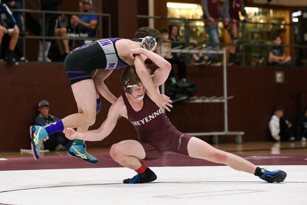 Cheyenne Mountain hosts Mesa Ridge in wrestling