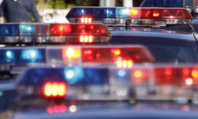 Police car flashing lights (copy)