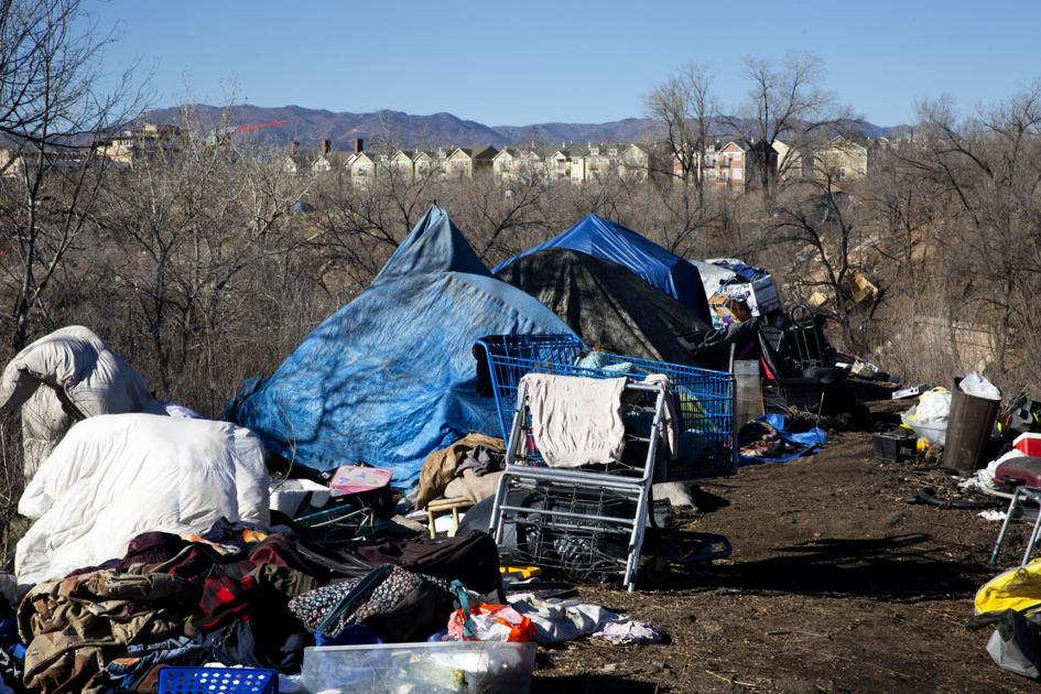 Another Sprawling Tent City Rises In The Shadow Of