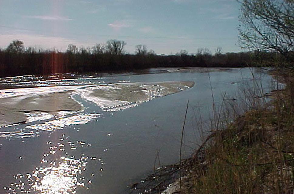 The Arkansas River near La Junta