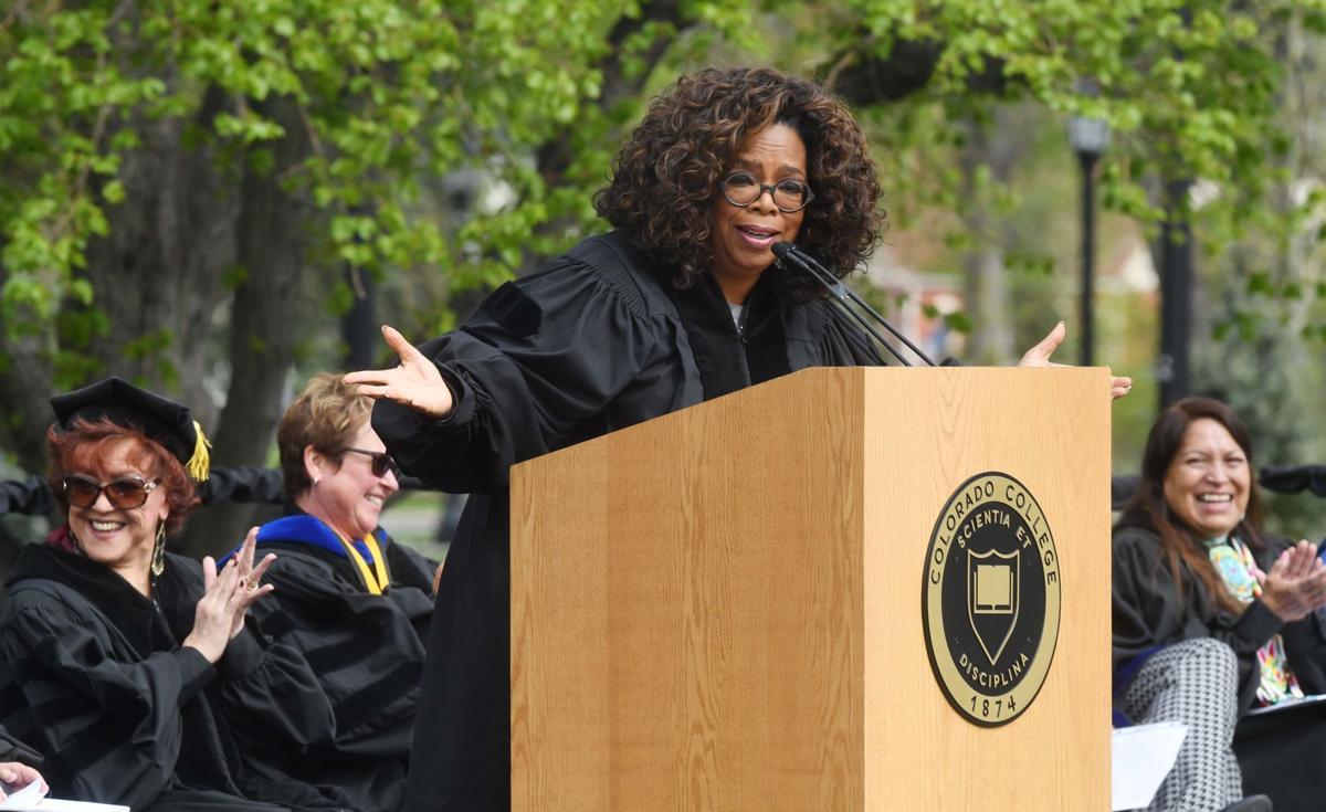 Oprah CC commencement