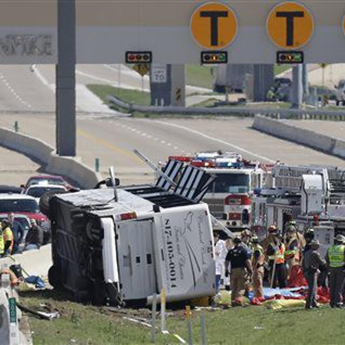 At least 2 dead as bus overturns near Dallas | Colorado Springs News