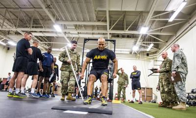 Fort Carson leaders easily pass physical test for new recruits