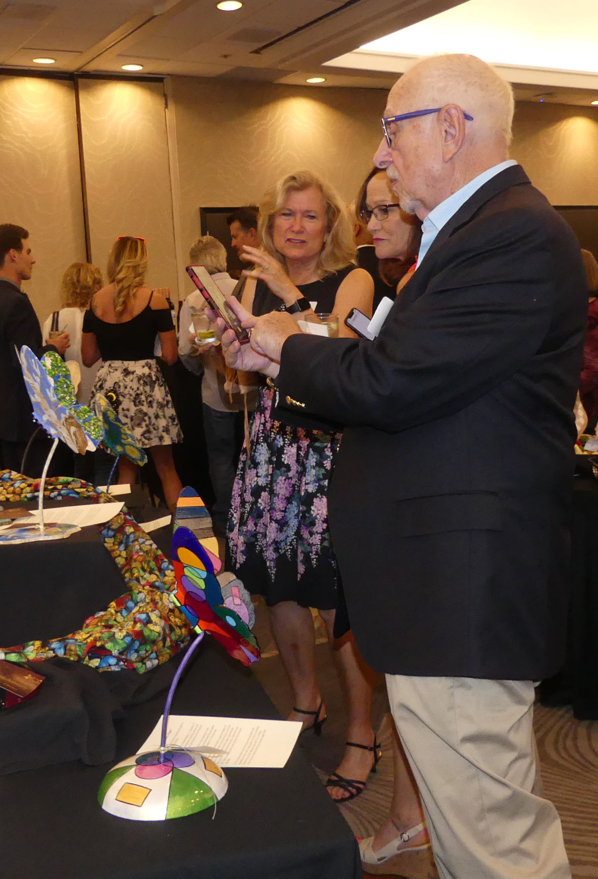 Butterflies and dragonflies sell for record-getting $100,000 at Rotary auction