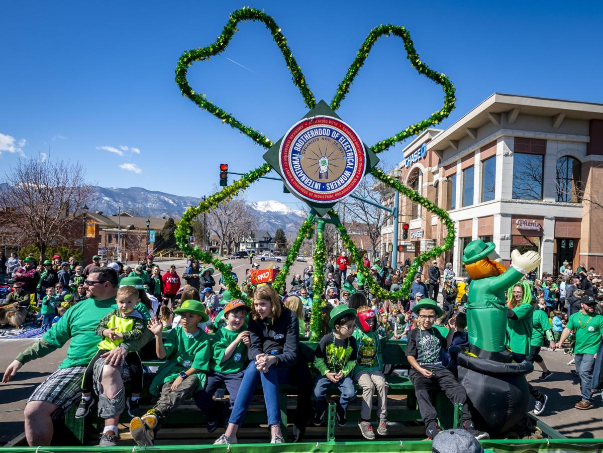 St. Paddy's Float