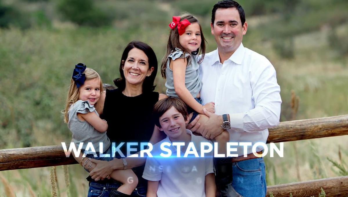 Trump co-stars in Walker Stapleton-for-governor ad