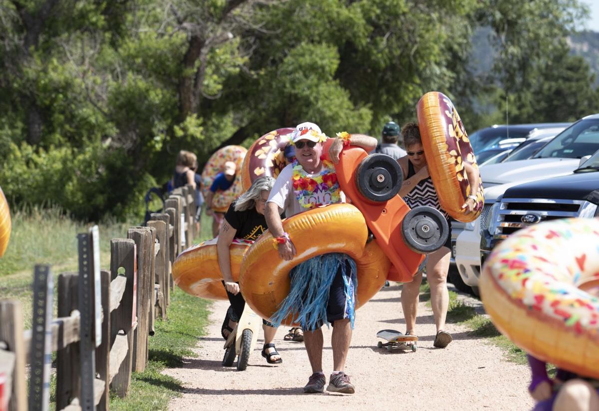 First annual TRY-athlon basks in spirit of fun, frivolity, festivity