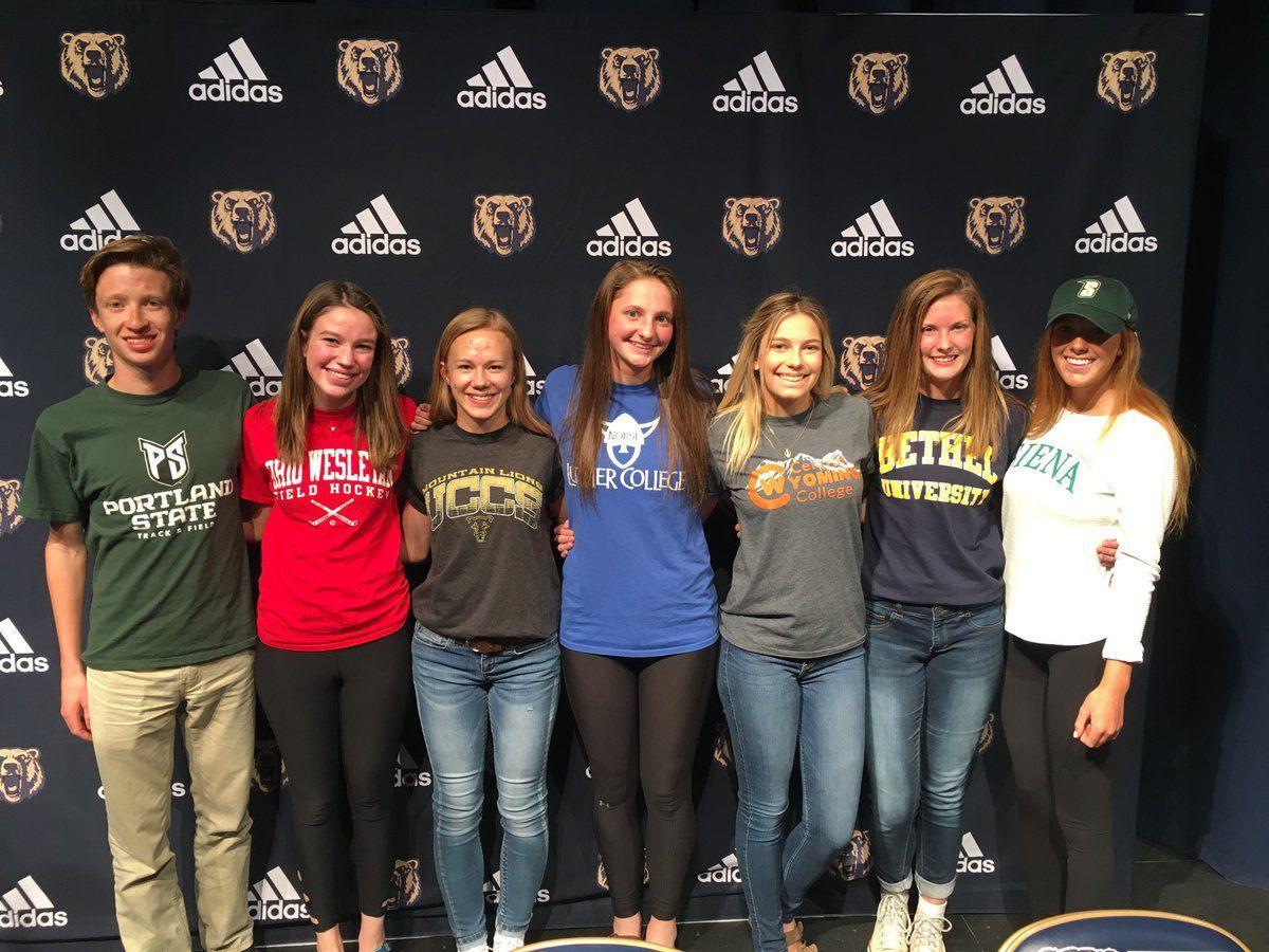 Palmer Ridge student athletes April 2019