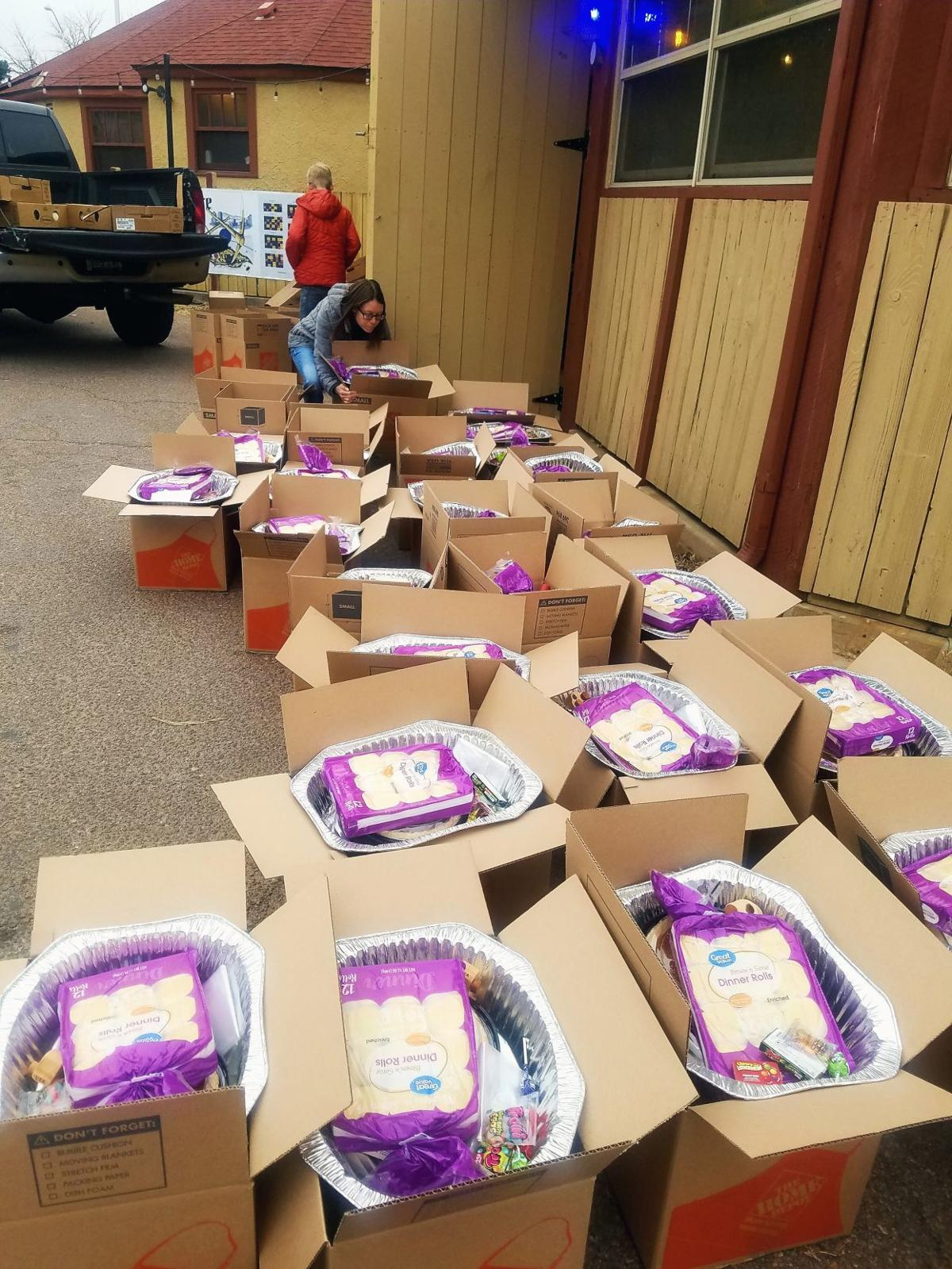 More than 5 dozen area families treated to full Thanksgiving meal thanks to Kiwanis efforts
