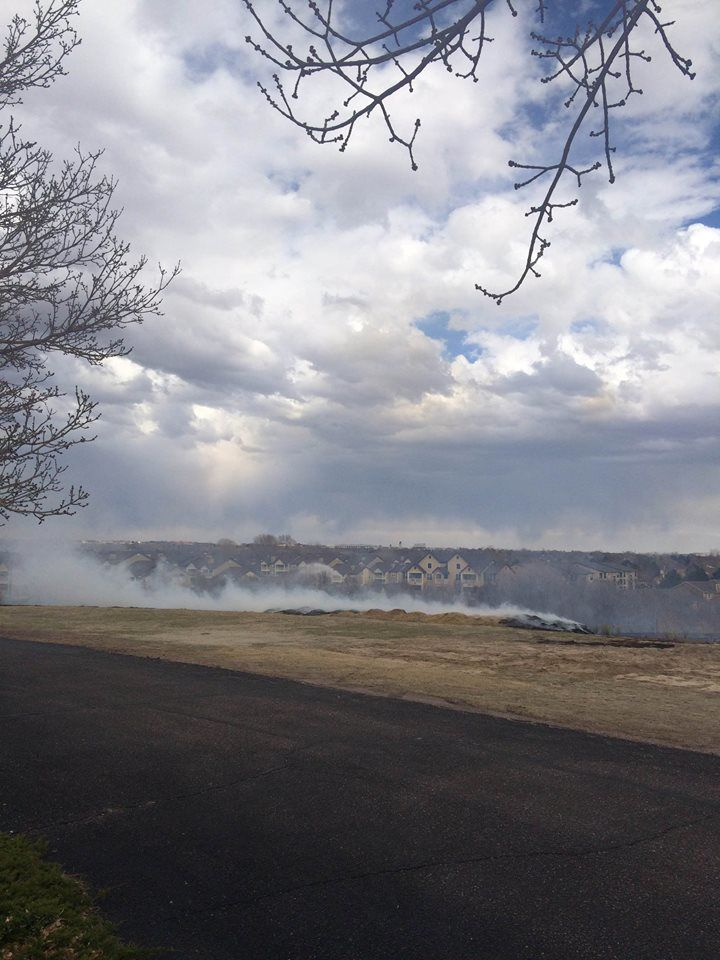 Colorado Springs grass fire
