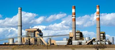 Xcel Energy's Comanche coal-fired power plant stands just southeast of Pueblo