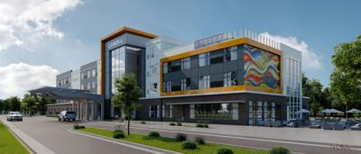 CAMBRIA HOTEL NEW RENDERING